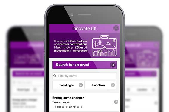 event mobile app